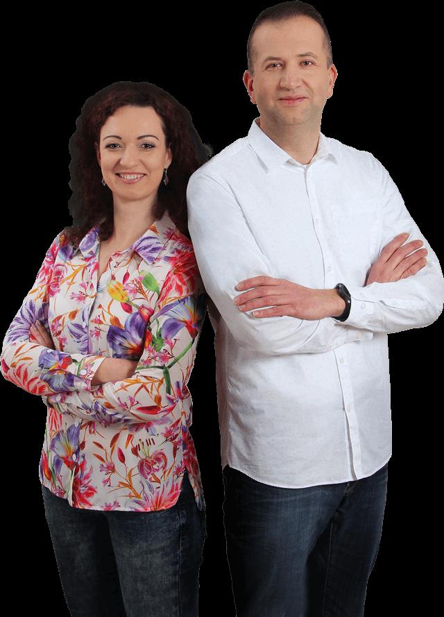 Gabriela Zaťková a Peter Klečka